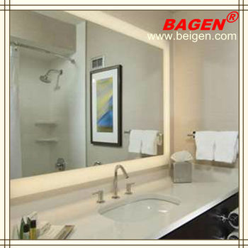 hotel led fogless shower mirror decorative mirrors 16 years supply for hotels