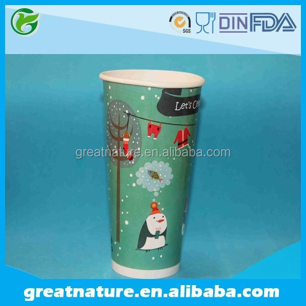 Custom Printed Ice Cream Christmas Cup