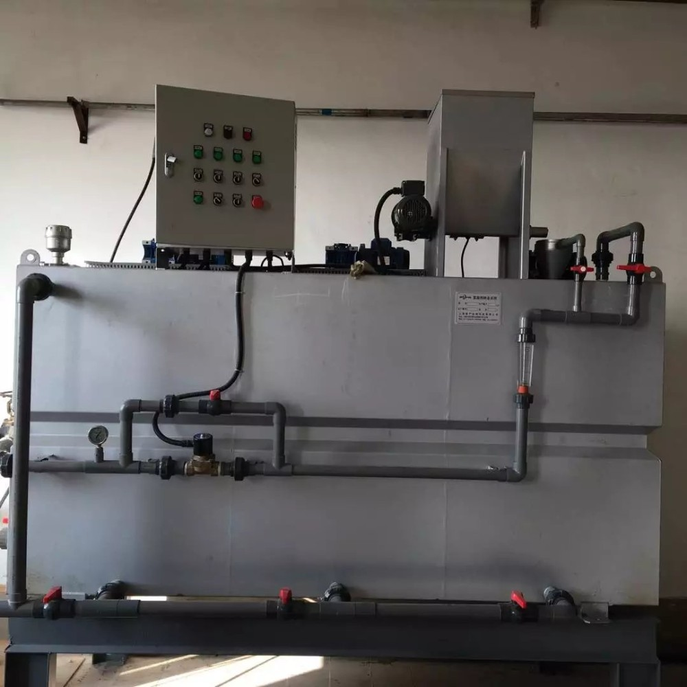 Chlorine dosing system for water disinfection