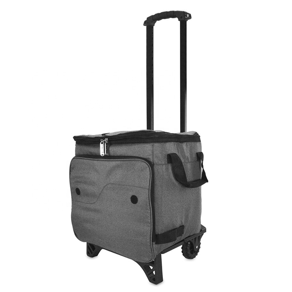 48 Can Trolley cooler bag for freeze food or beer
