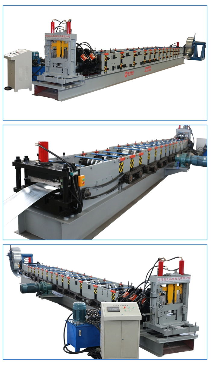 Cheaper CZ Purlin Roll Forming Machine Steel Frame and Purlin Making Machines