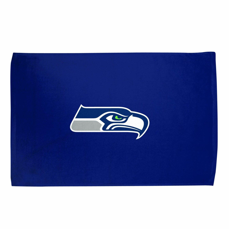 """NFL Seattle SeaHawks Primary Logo Team Color 15"""" x 25"""" Sport Fan Towel"""