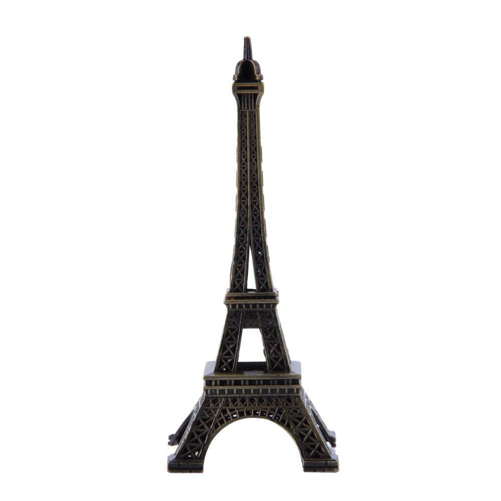SICOHOME Eiffel Tower,7.0inch,Black,Eiffel Tower Cake Topper with Blings