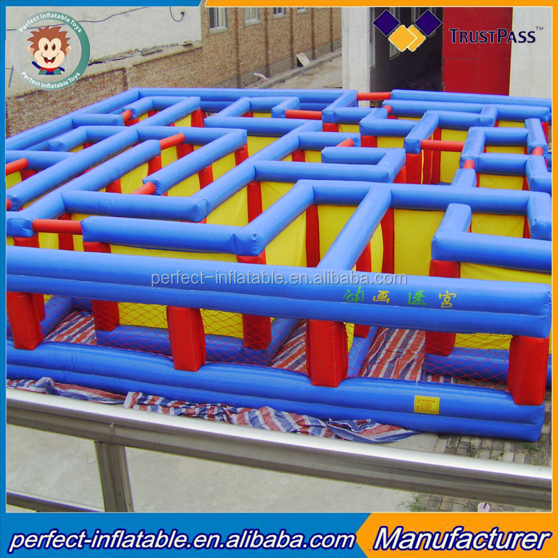 inflatable labyrinth inflatable tunnel maze games for kids