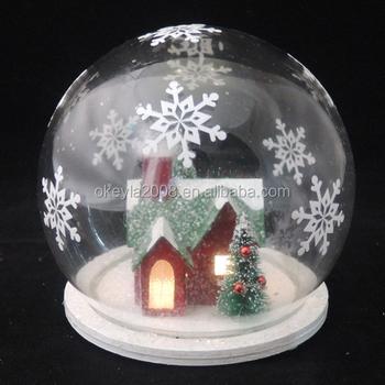Battery Powered Led Glass Globe Light,Christmas Snow Globe ...