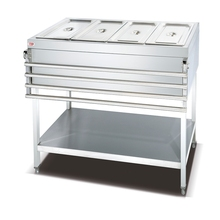 New Modle price Counter Top Electric Bain Marie Cabinet (3- pans) OT-3T-G