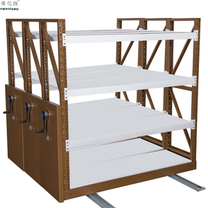 Eacy To Moving Metal Shelving Racks for Warehouse