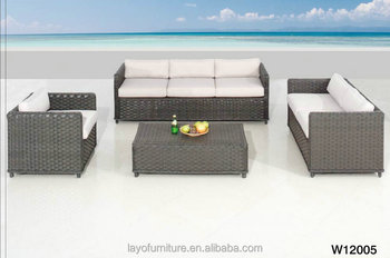 Awesome Rattan Sofa Cushion Covers Poly Molded Plastic Outdoor Furniture