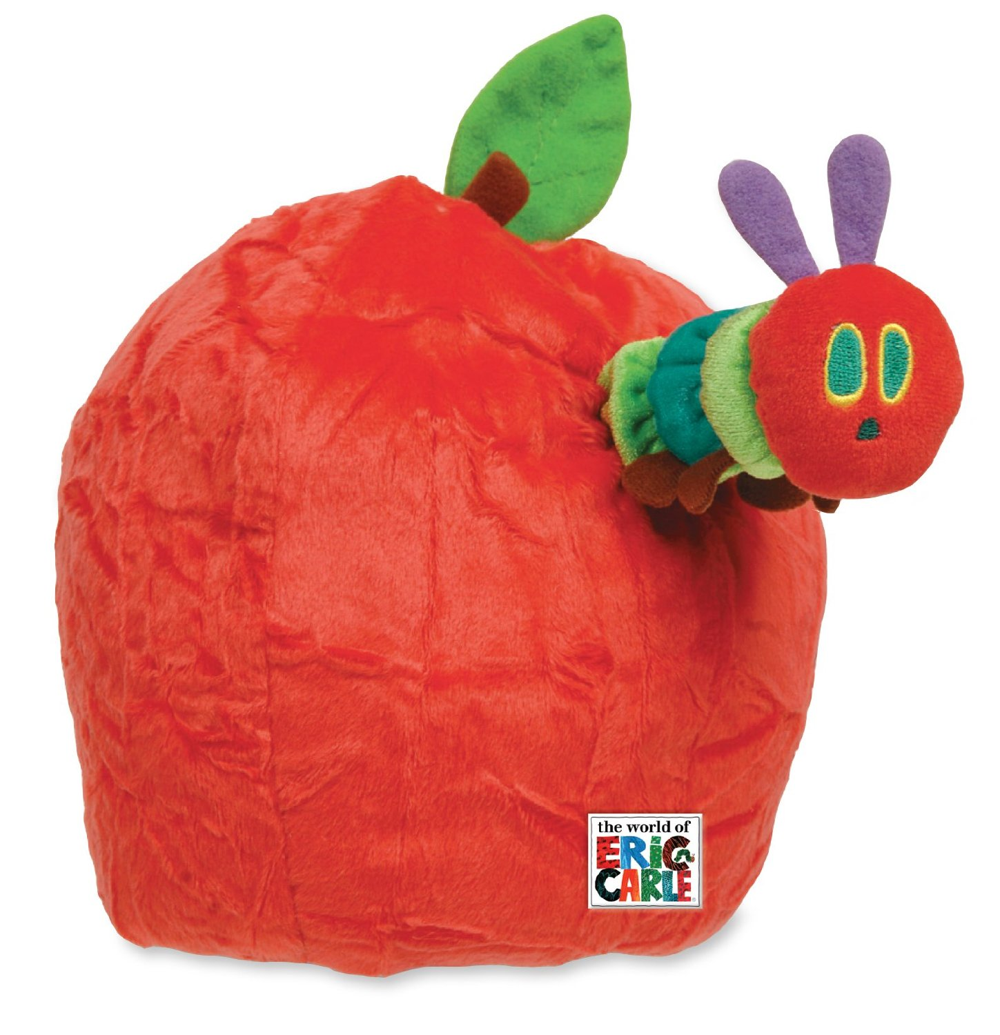 The World of Eric Carle Very Hungry Caterpillar Apple Hand Puppet