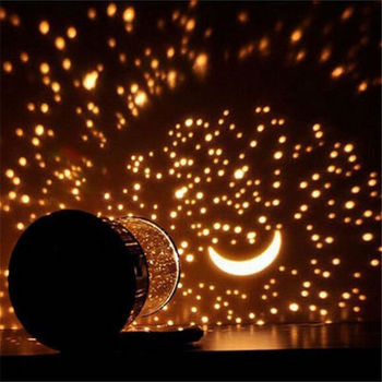 Romantique Led Etoile Nuit Ciel Projecteur Lampe Enfants Cadeau