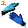 2-in-1 Pet Glove Grooming Tool + Furniture Pet Hair Remover Deshedding And Grooming Glove Soft Silicone Massage Pet Bathing