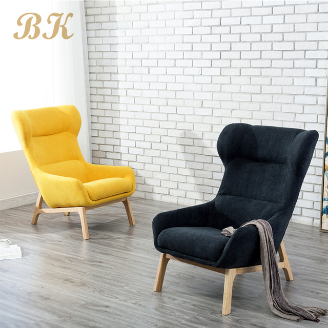 Comfortable Modern Velvet Relaxing Leisure Recliner Lounge Living Room  Furniture Lazy Sofa Chair