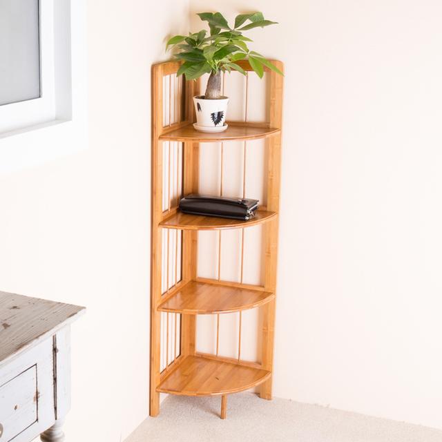 bambus ecke regal eckregal ecke dekorative schott racks. Black Bedroom Furniture Sets. Home Design Ideas