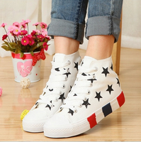 W71609G 2015 ladies fashion shoes all star lace-up canvas shoe design wholesale
