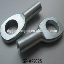 ISO Certificate 304 / 316 Stainless Steel Cable Swage Eye Ends Terminal for Wire Rope