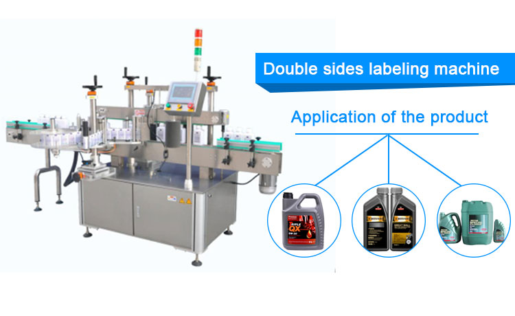 semi auto round bottle labeling machine 2