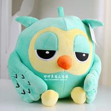 Stuffed animal 15cm night owl plush toy blue owl doll w1844