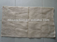 circular mesh bag for packing potatoes 55*85 ,80g similar jute mesh bag