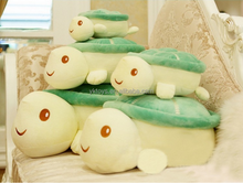 Creactive cartoon sea turtle plush animal toy embroidery shell birthday gift child toy
