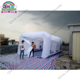 2017 china 8x4x3m good quality portable inflatable spray booth/inflatable paint booth cheap paintball bunkers