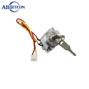 KS52 KSS1930 New Product 2 Position STOP And RUN Motorcycle Key Switch With Wire
