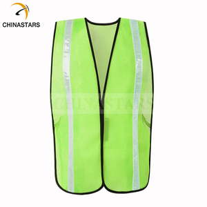 Reflective Safety Vest with high reflective PVC tape Reflective Jackets to keep people working safety outside