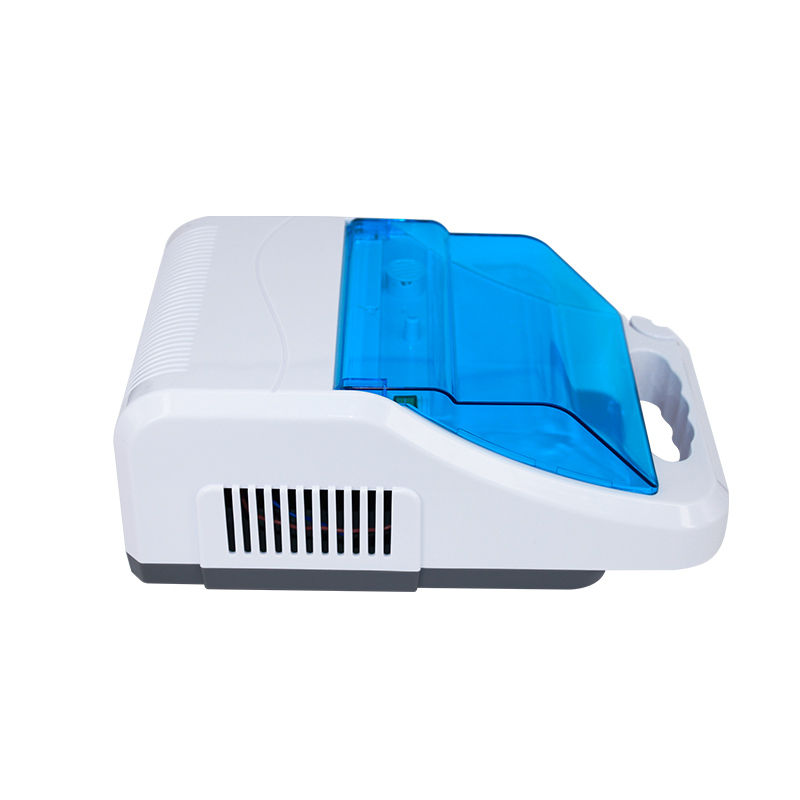 Portable oil free air compressor nebulizer with reusable nebulizer kits