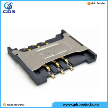 High quality Sim card Reader Holder Repair Fix Replacement part for blackberry 9790 9380