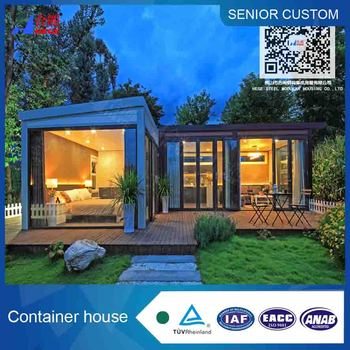40ft Luxury container house all with steel structure container villa house