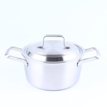 America hot sale stainless steel pots and pans restaurant kitchen equipment parini cookware