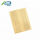 Good price packaging label printing service, production label printing, production sticker printing