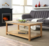 2017 High Sale High Quality Wooden Coffee Table Design