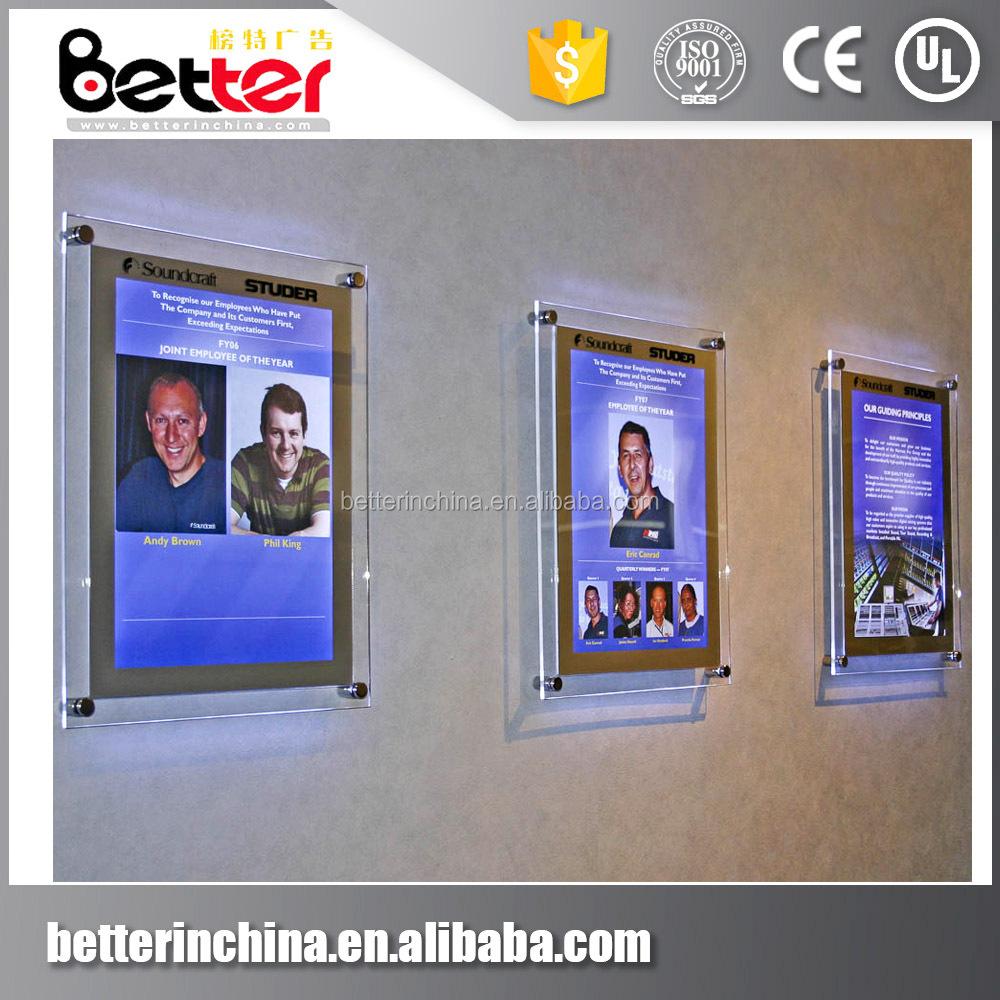 Backlit Photo Frame, Backlit Photo Frame Suppliers and Manufacturers ...