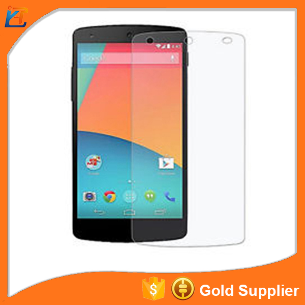 Factory supplier best price privacy 9h 2.5d tempered glass screen protector for lg x cam
