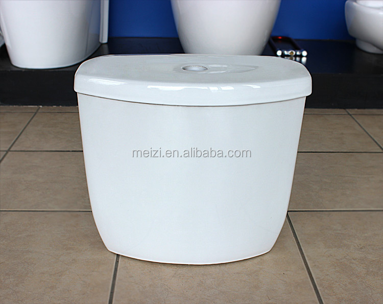 Western washdown two piece toilets in blue color