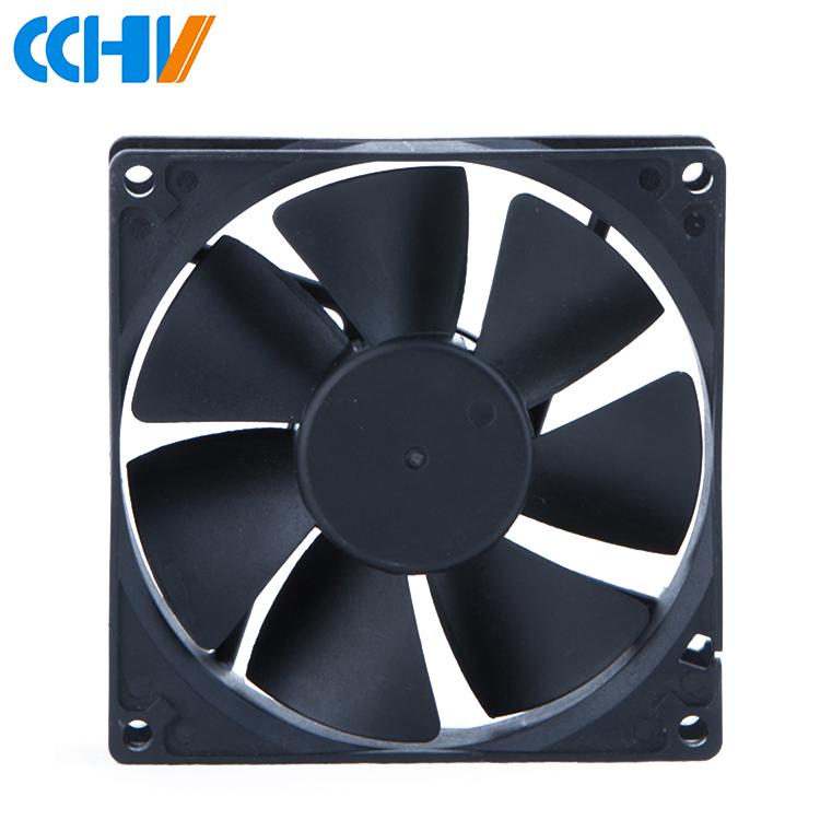 2 Pcs Ball Bearing 48V 9cm 92mm 92x92x25mm PC CPU Computer Case Cooling Fan 2pin