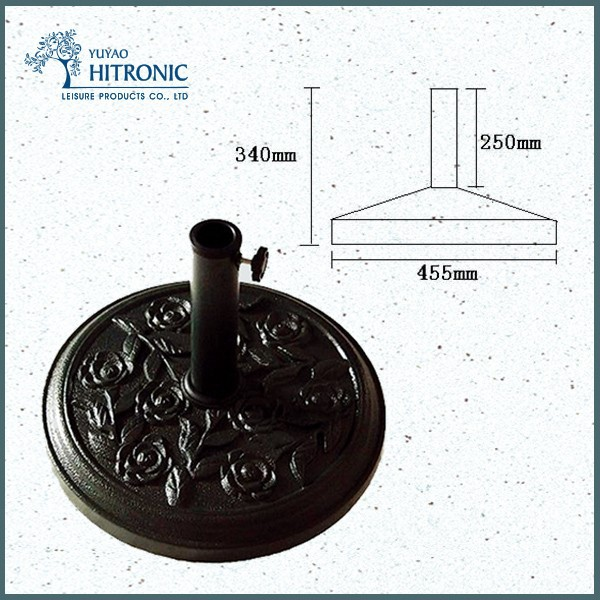 on alibaba wholesale Outdoor garden umbrella spare parts base