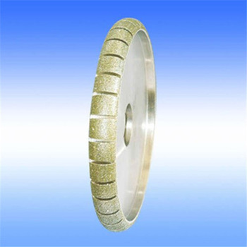 fast and sharp electroplated abrasive diamond grinding wheel