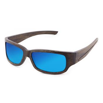 Dengan Lensa Logo Kustom Colorful Mengambang Olahraga Terpolarisasi Kacamata  Matahari Kacamata Bambu Kayu f5ff517c95