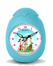 hot sale fashion cartoon clock for kids