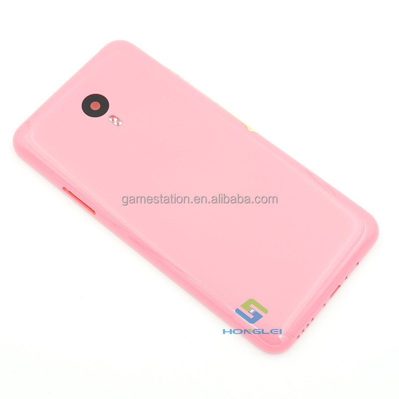 New Arrivel For Meizu Meilan Note 2 OEM Rear Back Cover Housing Case with High Quality - Pink