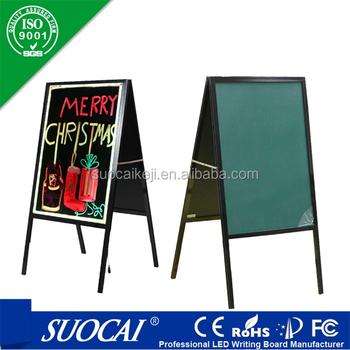 Signworld Double Side Sidewalk A Frame Chalkboard Menu Board - Buy ...