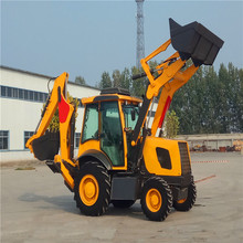 2019 China 2,5 t <span class=keywords><strong>retroexcavadora</strong></span> Loader-4X4-Extendahoe-Enclosed taxi