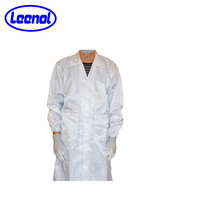 Protective ESD Garment/antistatic smock/esd cleanroom clothes wholesale
