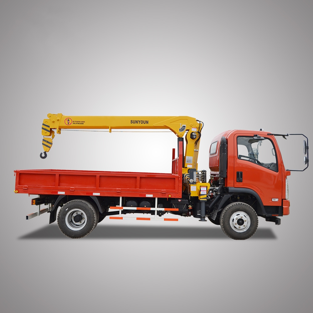 Hot Sell Dong Feng 3 Tons Mini Lorry Truck Crane