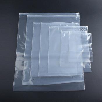 Accept Custom Printed Plastic Zip Lock Bag Packaging Underwear Clear Pvc Ziplock