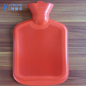 BS standard 500ml/1000ml/1500ml/2000ml rubber Hot Water Bottle With Cover