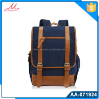 High quality vintage backpack for teenage