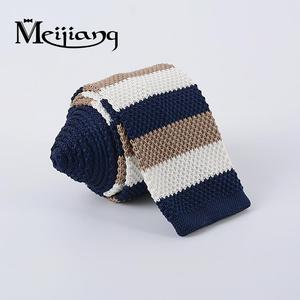 Modern designable wholesalers nice stripe 100 polyester school uniform neck tie