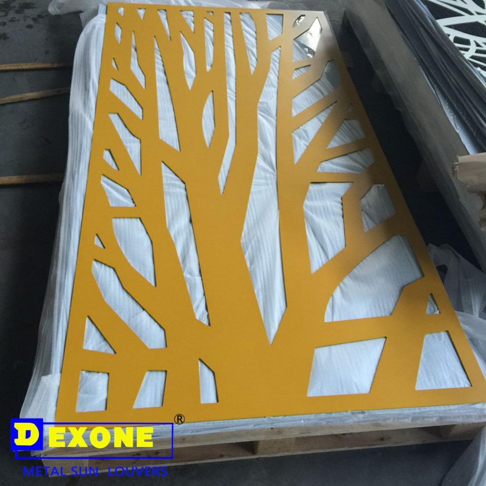 Perforated Metal Sheet Panel As Facade Curtain Wall - Buy Perforated ...
